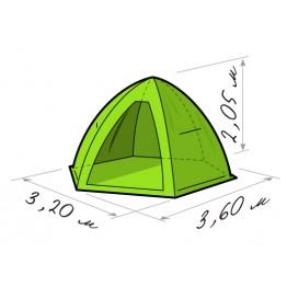 Палатка зимняя Лотос 5 Универсал (3.20x3.60x2.05 м)